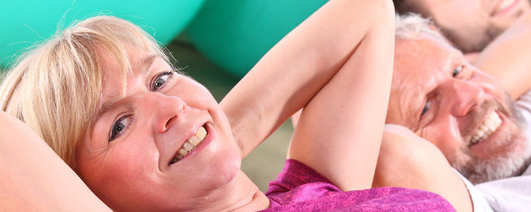 Frauengymnastik am Dienstagvormittag in den Osterferien