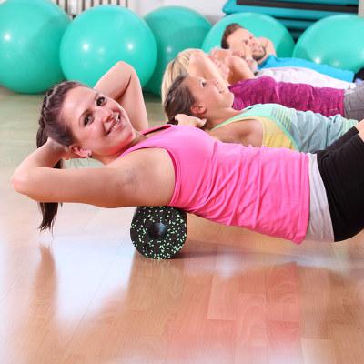 Neue Gruppe Wirbelsäulengymnastik