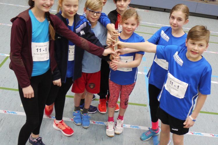 Start in die Kinder-Leichtathletik-Liga
