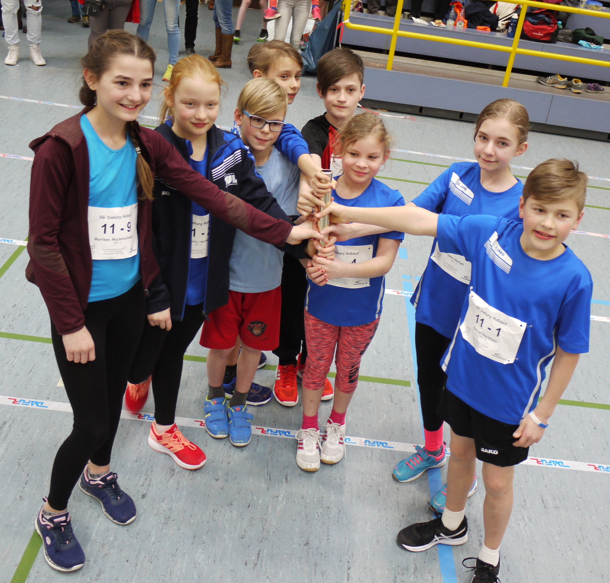 Start in die Kinder-Leichtathletik-Liga