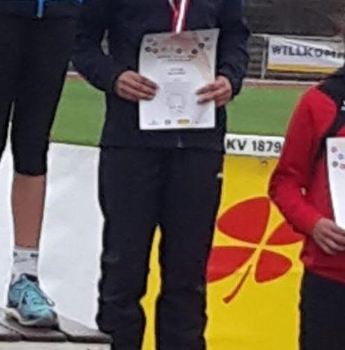 Vize Hessenmeisterin – Hessische Block Mehrkampf Meisterschaften der Leichtathleten