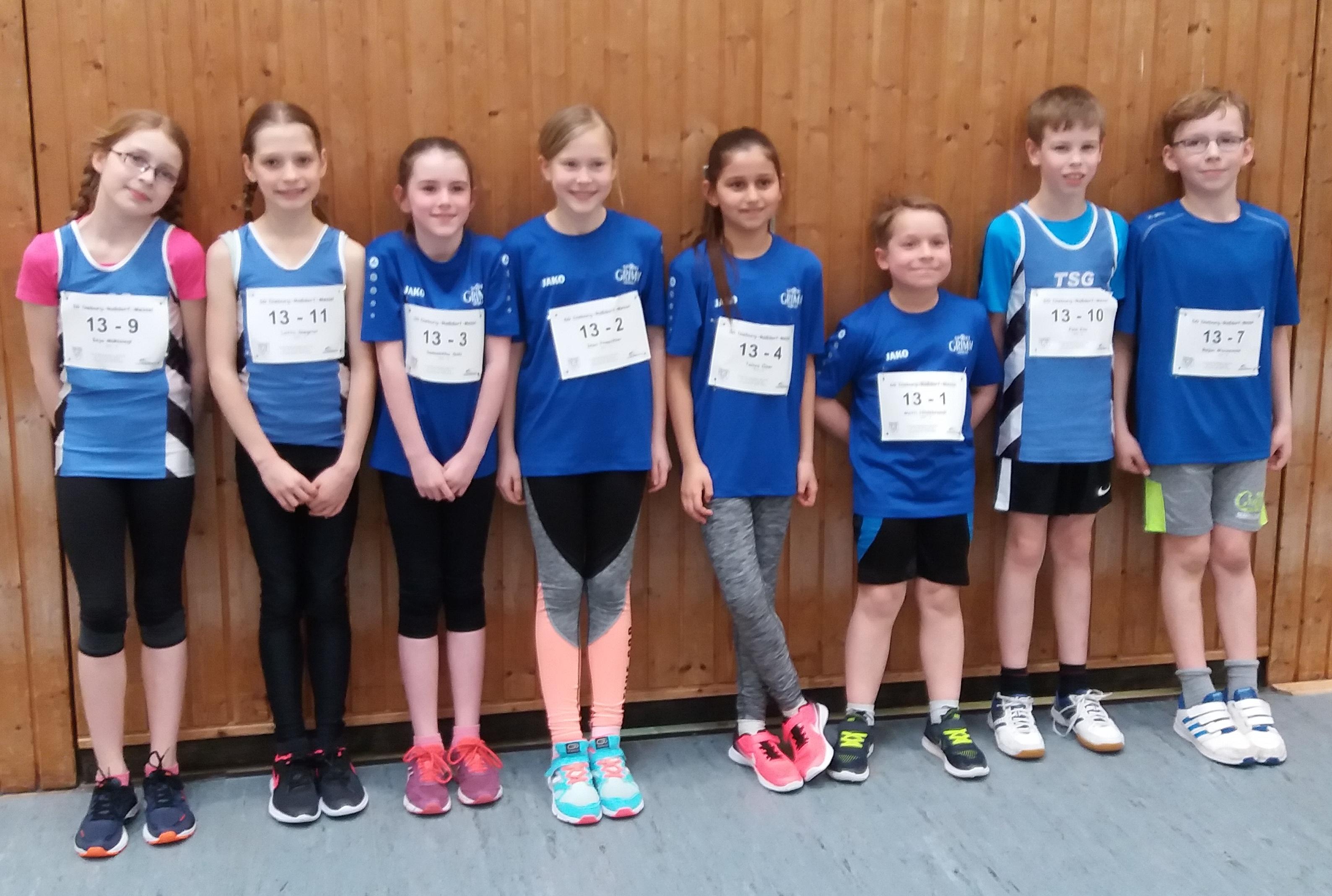 1. Wettkampf der Kinder-Leichtathletik-Liga (KiLa) 2019 der U12