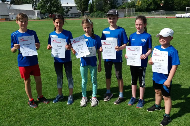 3. Wettkampf der Kinder Leichtathletik Liga (KiLa) 2019 der U12