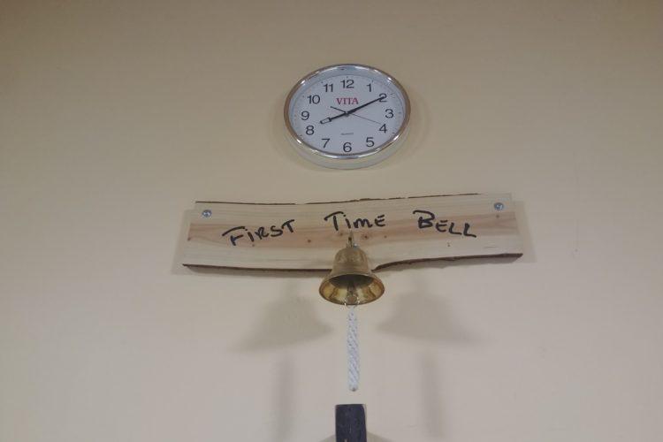 Glocke für die Alte Turnhalle