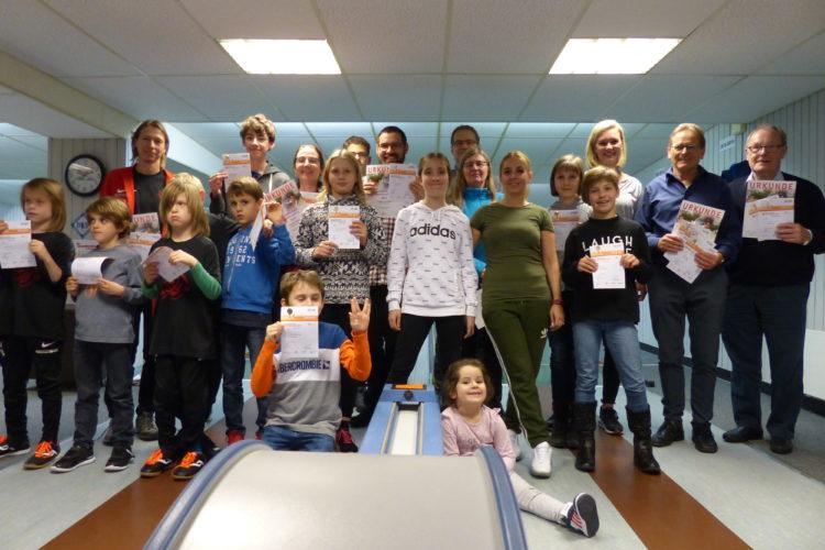 Sportabzeichen 2019 – Aktive Kinder und Jugendliche geehrt
